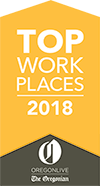 Top Work Places 2018 Oregon